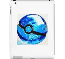 Water great Pokeball iPad Case/Skin