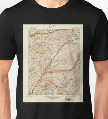 USGS TOPO Map California CA Big Trees 299226 1901 125000 geo Unisex T-Shirt