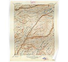 USGS TOPO Map California CA Big Trees 299226 1901 125000 geo Poster