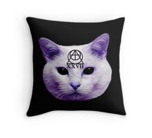 Cult Cat Throw Pillow