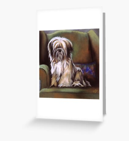 You're in My Spot Again Greeting Card