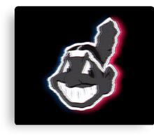 Hazy Chief Wahoo Canvas Print