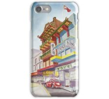 Chinatown Street Scene iPhone Case/Skin