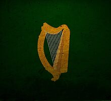 Coat of Arms Flag of the Republic of Ireland by PattyG4Life