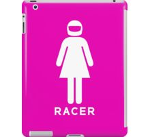 Woman Racer (2) iPad Case/Skin