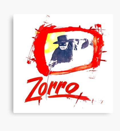Zorro Zorro Canvas Print