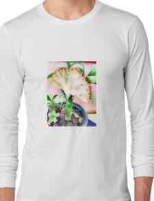 Unique Succulent Long Sleeve T-Shirt