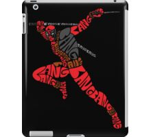 Deadpool Typography iPad Case/Skin