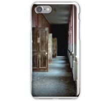 Darkness beyond the doors of sanity iPhone Case/Skin