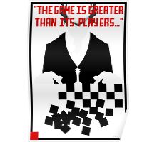 Chess in Concert - Greater Than Its Players Poster
