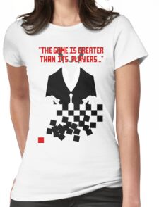 Chess in Concert - Greater Than Its Players Womens Fitted T-Shirt