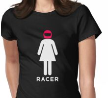Woman Racer (4) Womens Fitted T-Shirt