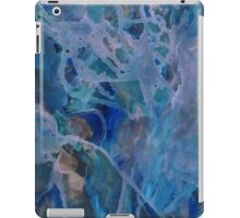 Primordial blue therapy iPad Case/Skin