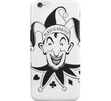 Vintage Joker Card Face iPhone Case/Skin