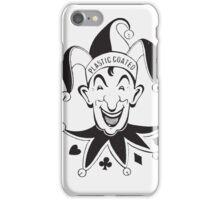 Vintage Joker Card Face iPhone Case/Skin