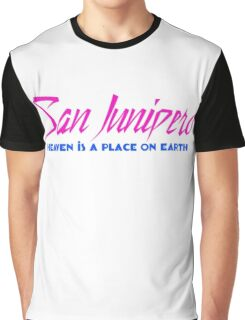 Heaven Is A Place On Earth Graphic T-Shirt
