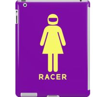 Woman Racer (5) iPad Case/Skin