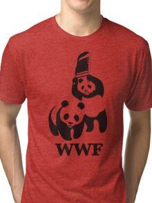 funny wwf Tri-blend T-Shirt