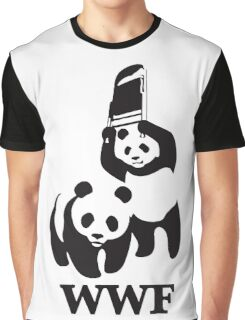 funny wwf Graphic T-Shirt