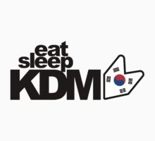 Eat Sleep KDM (2) Kids Clothes