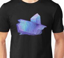 Purple crystal amethyst angel aura quartz geode Unisex T-Shirt