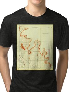 USGS TOPO Map California CA Citrus Cove 295998 1924 31680 geo Tri-blend T-Shirt