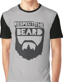 RESPECT THE BEARD FUNNY Graphic T-Shirt