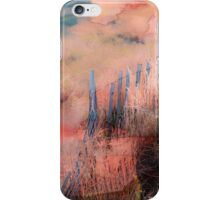 Colorful Auras...Grey Fences iPhone Case/Skin