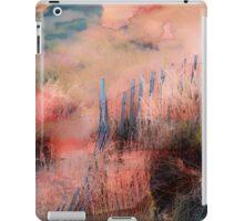 Colorful Auras...Grey Fences iPad Case/Skin