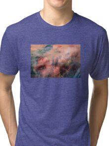 Colorful Auras...Grey Fences Tri-blend T-Shirt