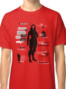 Mass Effect - Tali Quotes Classic T-Shirt