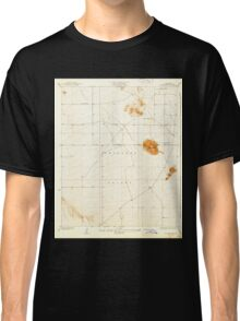 USGS TOPO Map California CA Black Butte 288460 1933 24000 geo Classic T-Shirt