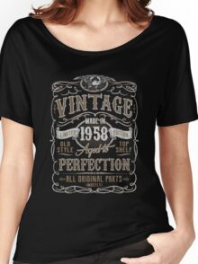 Made In 1958 Birthday Gift Idea Women's Relaxed Fit T-Shirt