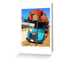 Bright Truck Greeting Card