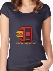 Food machine Women's Fitted Scoop T-Shirt