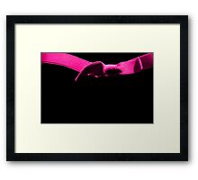 The Pink Bow Framed Print