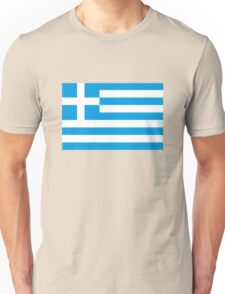 flag Greece Unisex T-Shirt