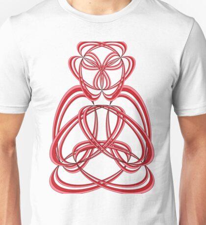 Buda, Red Unisex T-Shirt