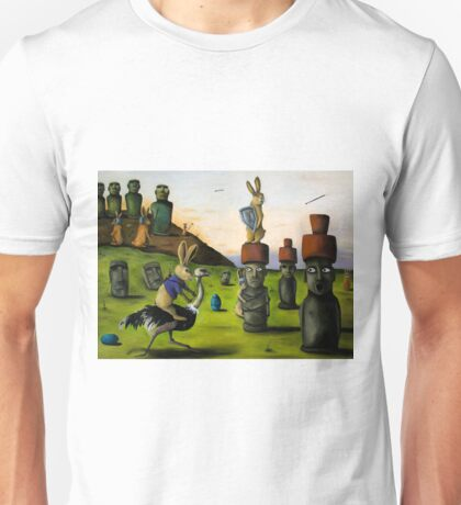 The Battle Over Easter Island Unisex T-Shirt