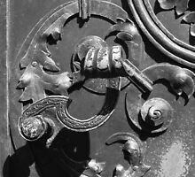 Old Door Knocker in Prague by Circe Lucas