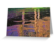 Paint My Soul With Colors Greeting Card