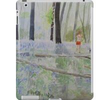 Hot Spring Bluebell Jogger iPad Case/Skin
