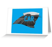 B of A Stadium, Carolina Greeting Card