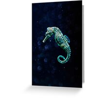 The miracle of abyss Greeting Card