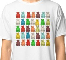 Cute Candy Gummy Bear Collage Classic T-Shirt