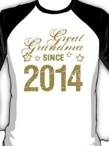 2014 Great Grandma (Grunge) T-Shirt