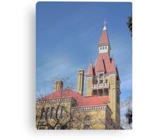 West Bend Courthouse Canvas Print