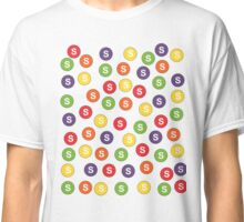 Cute Rainbow Fruity Candy Collage Classic T-Shirt