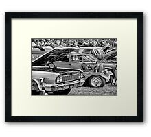 Car Show Framed Print
