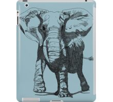 Elephant Pen and Ink Drawing iPad Case/Skin